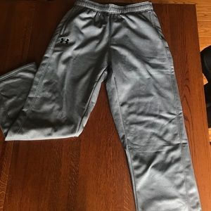under armour grey sweatpants